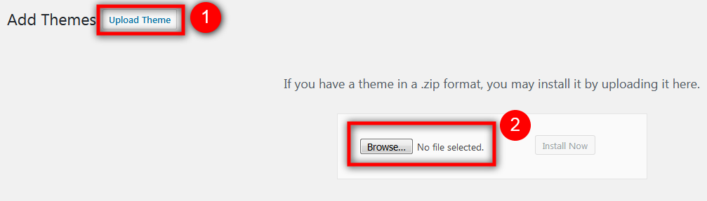 browse theme before install WordPress Theme