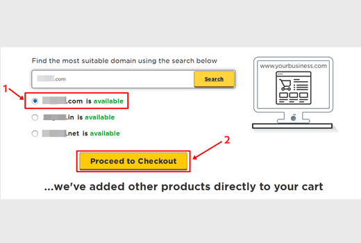 How to start a blog with hostgator checkout button